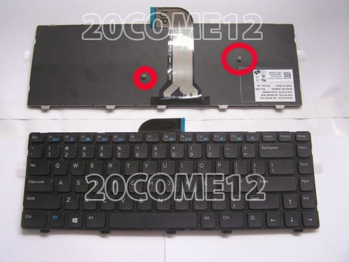 Keyboard Dell Inspiron 14 3421 14R 5421 1528 2518 2308 2418 NSK-L90SW  vostro 2421 laptop Keyboard Teclado US Black