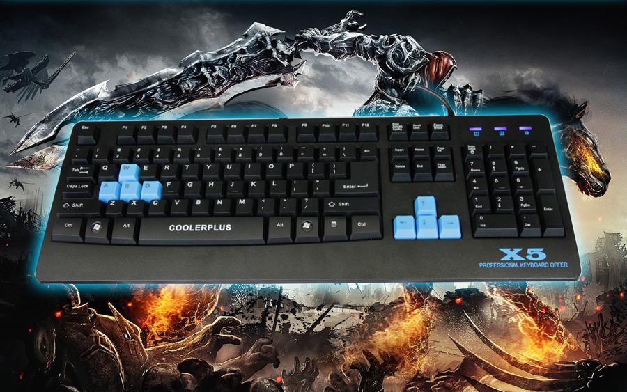 Bộ bàn phím COOLERPLUS X5 dành cho game thủ_000