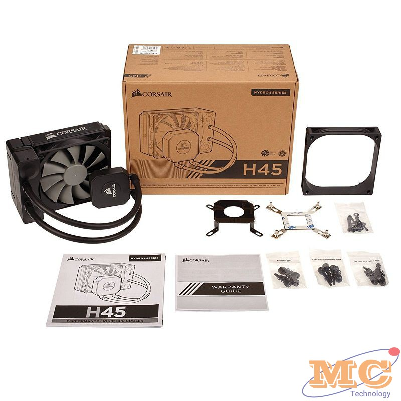 Tản nhiệt nước CPU All in One Corsair Hydro Cooler H45