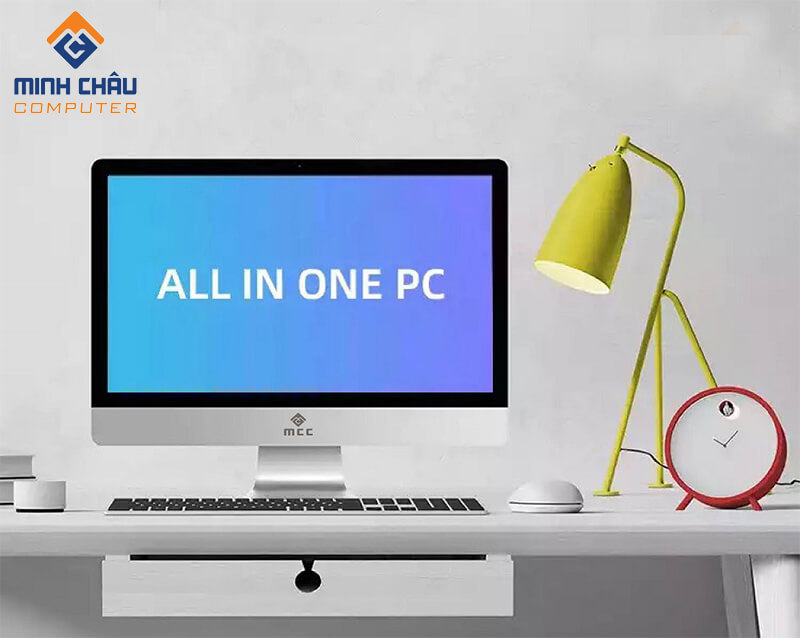 Bộ PC All in ONE (AIO) MCC5441 Home Office Computer CPU G5400/ Ram4G/ SSD120G/ Wifi/ camera/ 22inch chính hãng
