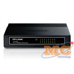 TP Link TL-SF1016D 16-ports 10/100M Desktop Switch,