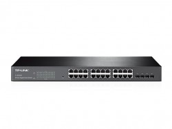 24-Port Gigabit Smart Switch with 4 Combo SFP Slots TL-SG2424