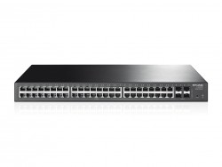 48-Port Gigabit Smart Switch with 4 SFP Slots TL-SG2452