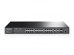 JetStream 24-Port 10/100Mbps + 4-Port Gigabit L2 Managed Switch TL-SL3428