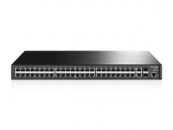JetStream 48-Port 10/100Mbps + 4-Port Gigabit L2 Managed Switch TL-SL3452