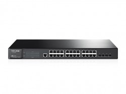 JetStream 24-Port Gigabit L2 Managed Switch with 4 Combo SFP Slots TL-SG3424