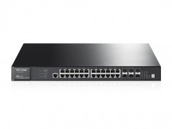 JetStream 28-Port Gigabit Stackable L3 Managed Switch T3700G-28TQ