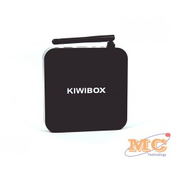 Android tivi box KIWIBOX S3 ANDROID TV BOX (Đen)