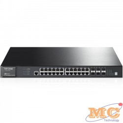Smart Switch JetStream 28 Cổng Pure-Gigabit- TP-Link T1700G-28TQ