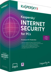 Phần mềm Kaspersky Internet Security (KIS1 license)