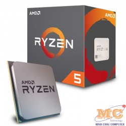 CPU AMD Ryzen 5 2600 3.4 GHz (3.9 GHz with boost) / 19MB / 6 cores 12 threads / socket AM4