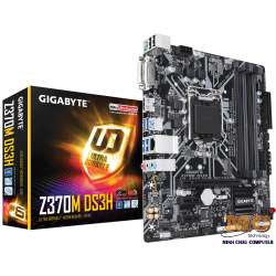 Mainboard GIGABYTE™ GA-Z370M-DS3H- Intel Z370 chipset - Socket LGA 1151 Support for Intel® 8th Gen Core™ i7/i5/i3/Pentium®/Celeron® LGA1151