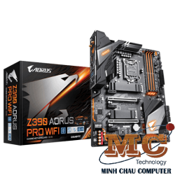 Mainboard GIGABYTE™ GA-Z390 AORUS PRO WIFI- Intel Z390 chipset - Socket LGA 1151 Support for Intel® 9th Gen Core™ i7/i5/i3/Pentium®/Celeron® LGA1151-