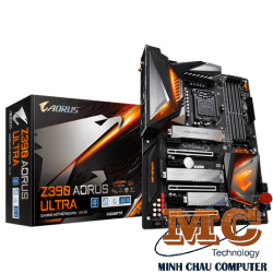 Mainboard GIGABYTE™ GA-Z390 AORUS ULTRA- Intel Z390 chipset - Socket LGA 1151 Support for Intel® 9th Gen Core™ i7/i5/i3/Pentium®/Celeron® LGA1151-