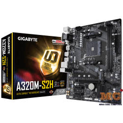 Mainboard GIGABYTE™ GA-A320M-S2H - AMD A320 chipset - Socket AM4 Support for AMD Ryzen™ processor/AMD 7th Generation A-series/ Athlon™ processor-