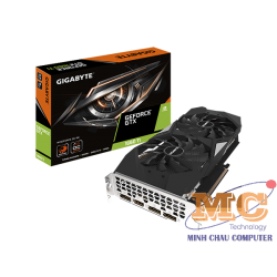 CARD GIGABYTE GeForce GTX 1660 Ti WINDFORCE OC 6G (GV-N166TWF2OC-6GD)