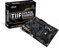 Bo mạch chủ Asus TUF X470 PLUS gaming socket AM4