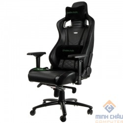 Ghế Gamer Noblechairs EPIC Series Black/Green (Ultimate Chair Germany)