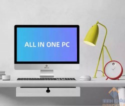 Bộ PC để bàn All in ONE (AIO) MCC3482 Home Office Computer CPU i5 4570/Ram8G/SSD240G/Wifi/camera22inch