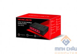 Bộ chia mạng Mercusys MS105G 5-Port 10/100/1000 Mbps Desktop Switch