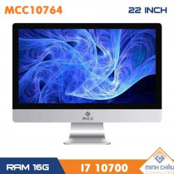 Bộ PC All in ONE (AIO) MCC10764 Home Office Computer CPU i7 10700/ Ram16G/ SSD480G/ Wifi/ Camera/ 22inch