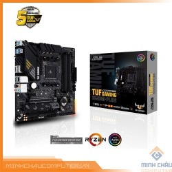 Mainboard ASUS TUF GAMING B550M-PLUS (WI-FI) (AMD B550, Socket AM4, m-ATX, 4 khe RAM DRR4)